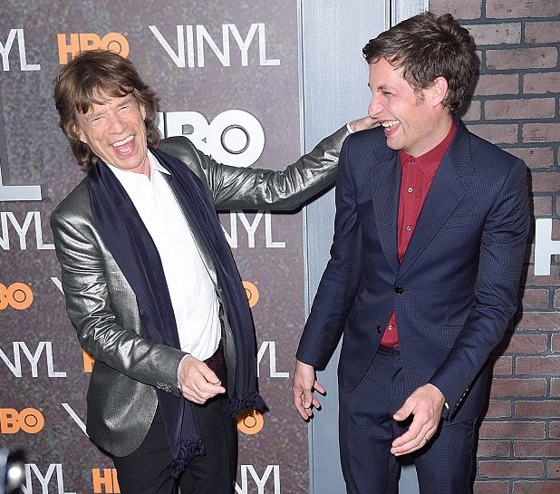Mick e James Jagger estilo
