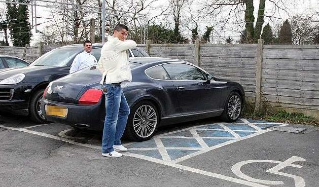 Bentley Continental GT Speed Cristiano Ronaldo