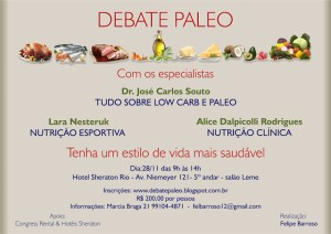 Debate Paleo no Rio de janeiro