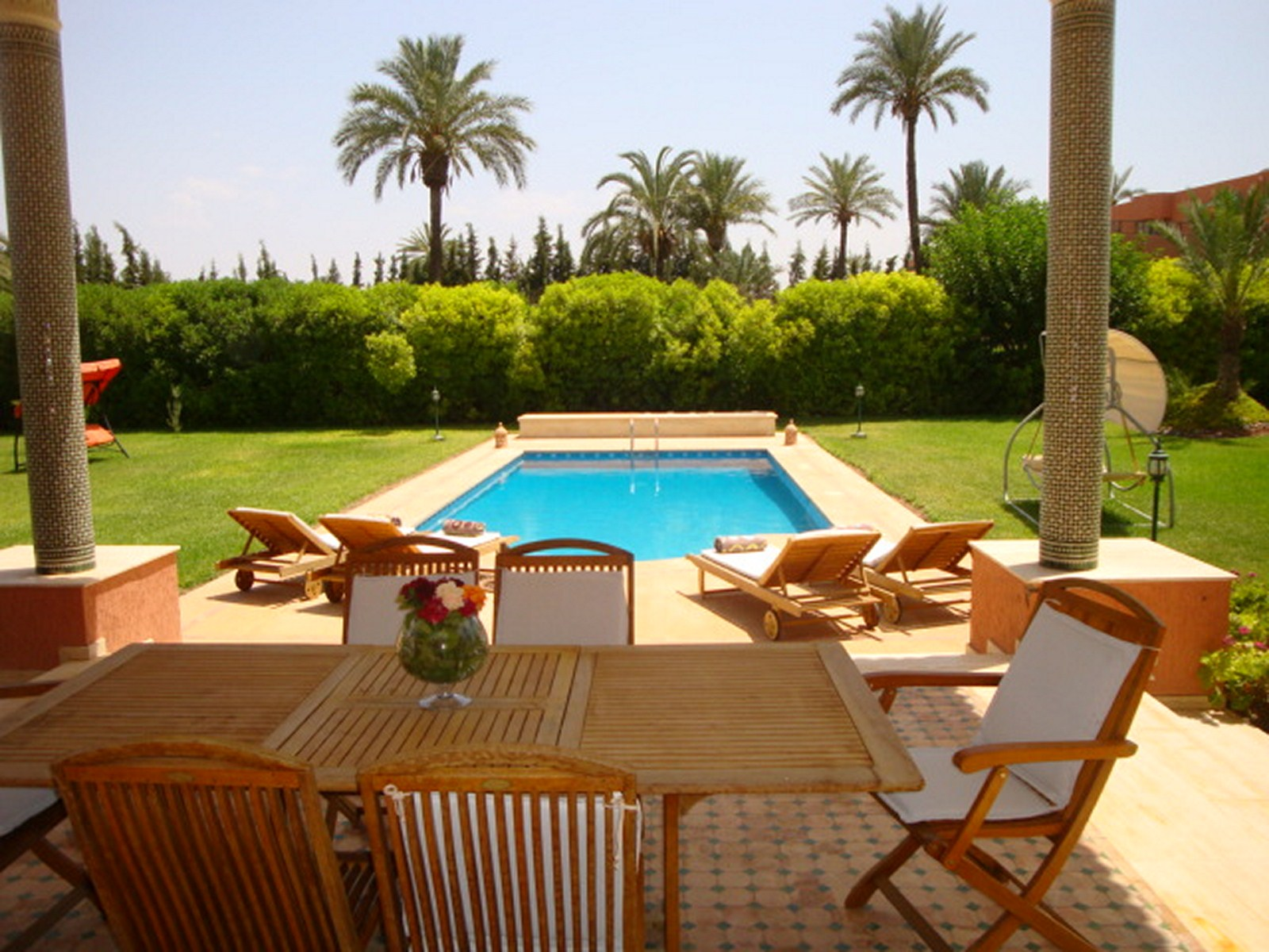 Couverture Terrasse Maroc