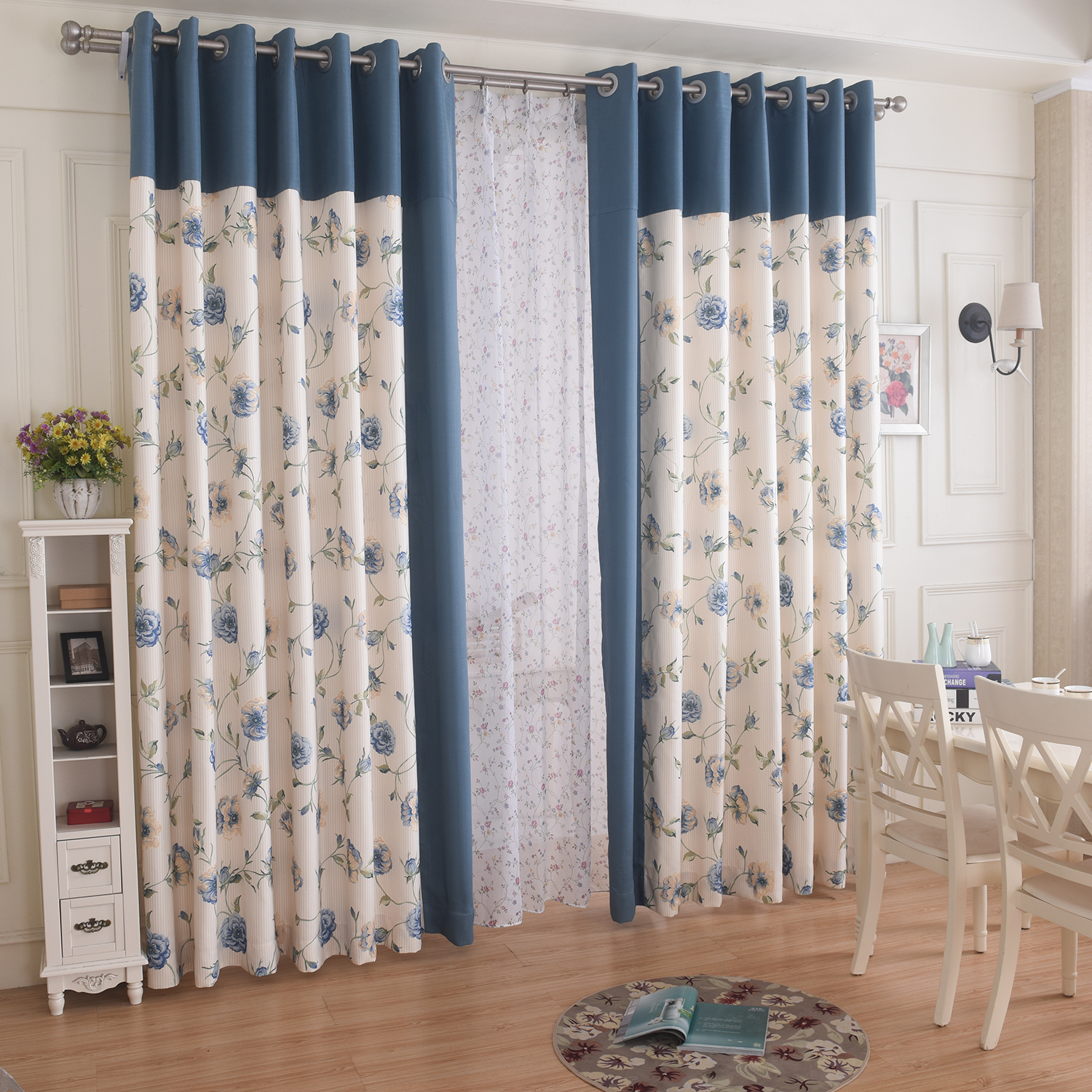 China Blue Curtains China Blue Floral Curtains China Blue Floral Curtains Shopping