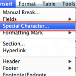 How to Add a Tick Symbol ✓ to Writer documents [LibreOffice, OpenOffice]