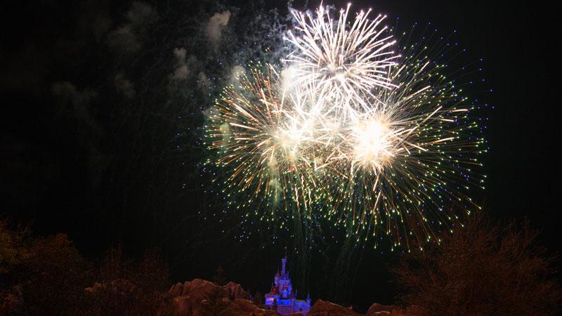 Beast Castle - Best Alternate Places to Watch Magic Kingdom's Fireworks