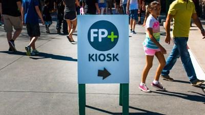 FastPass+ Kiosk - Disney World