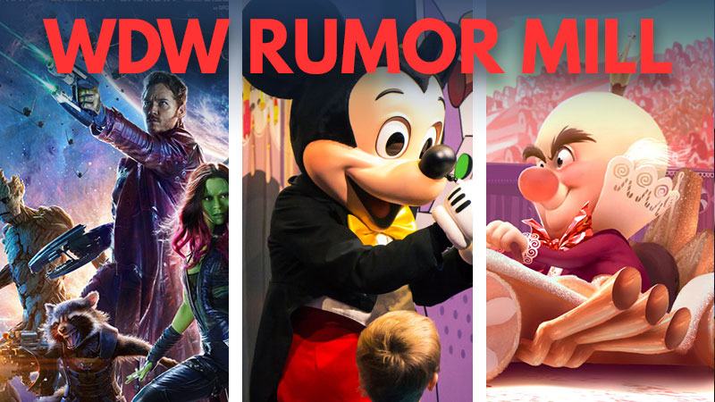 Guardians Coaster, Great Mickey Ride, and Wreck-It Ralph Racers: WDW Rumor Mill