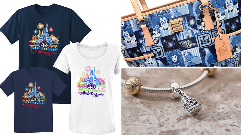 Disney World celebrates 45 years with special merchandise