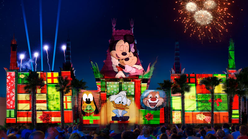 Jingle Bell, Jingle BAM – a holiday nighttime spectacular – coming to Hollywood Studios