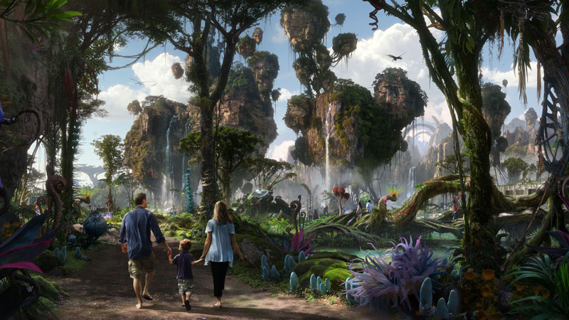 5 New Details Revealed about Pandora: The World of Avatar at Disney World