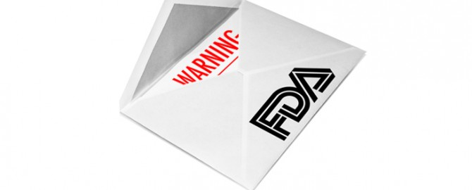 The most common reasons an FDA warning letter is issued Are you