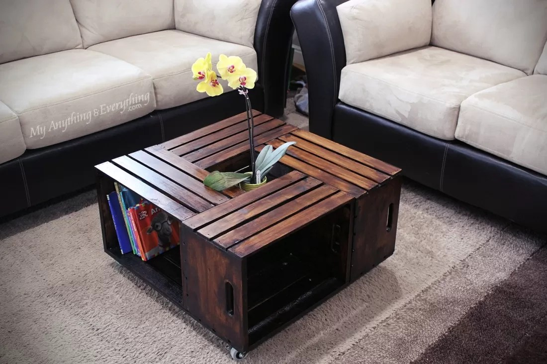 Wohnzimmertisch Obstkisten 20 Diy Wooden Crate Coffee Tables | Guide Patterns