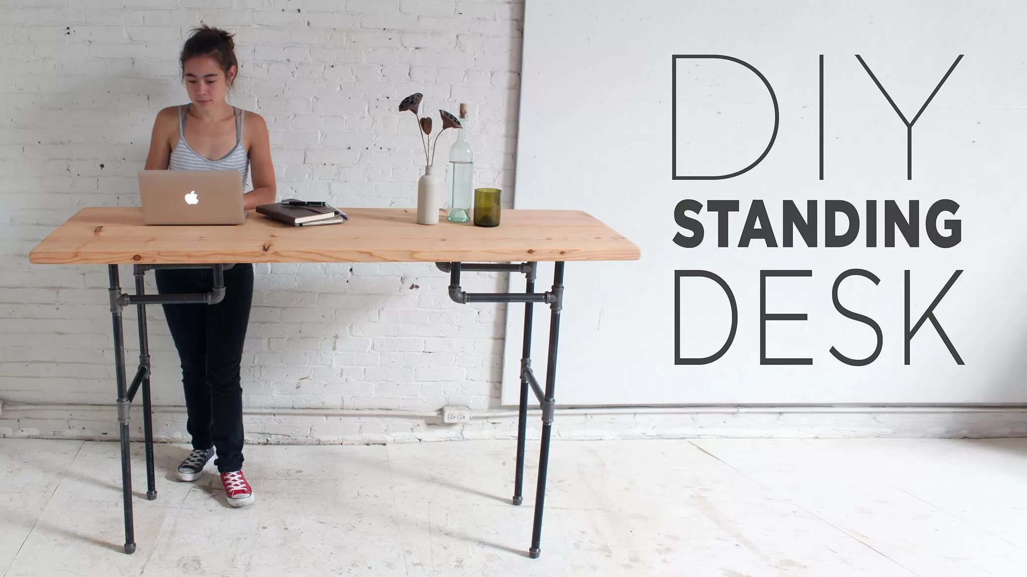 Diy Desktop Standing Desk 21 Diy Standing Or Stand Up Desk Ideas Guide Patterns