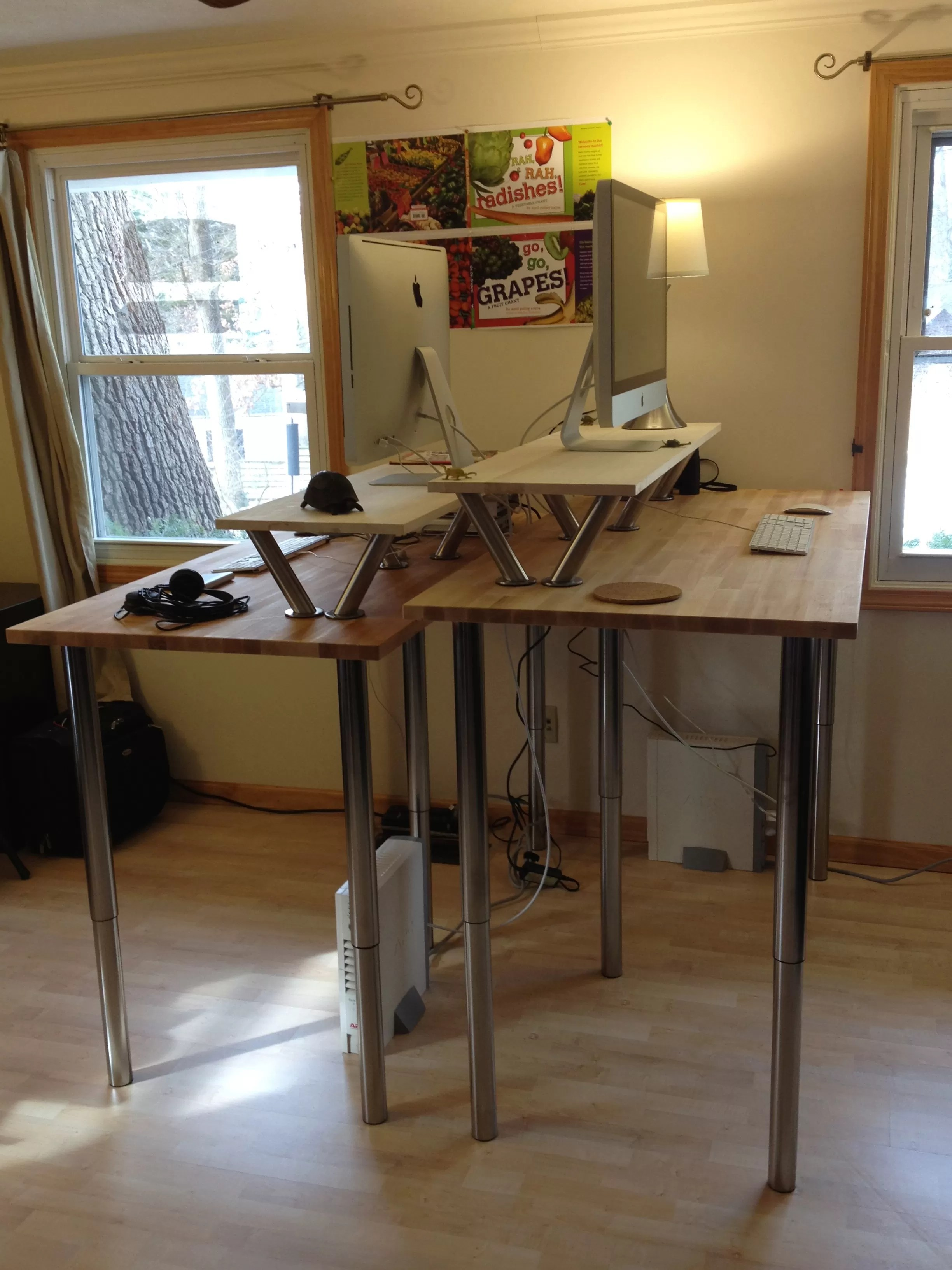 Desk Ideas 21 Diy Standing Or Stand Up Desk Ideas Guide Patterns