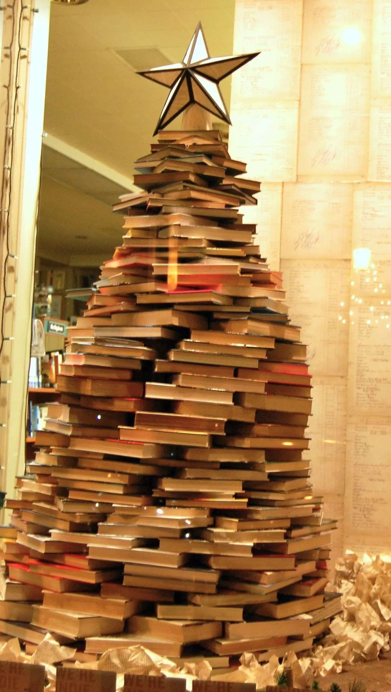 Books Decor 17 Diy Instructions And Ideas To Make A Christmas Tree