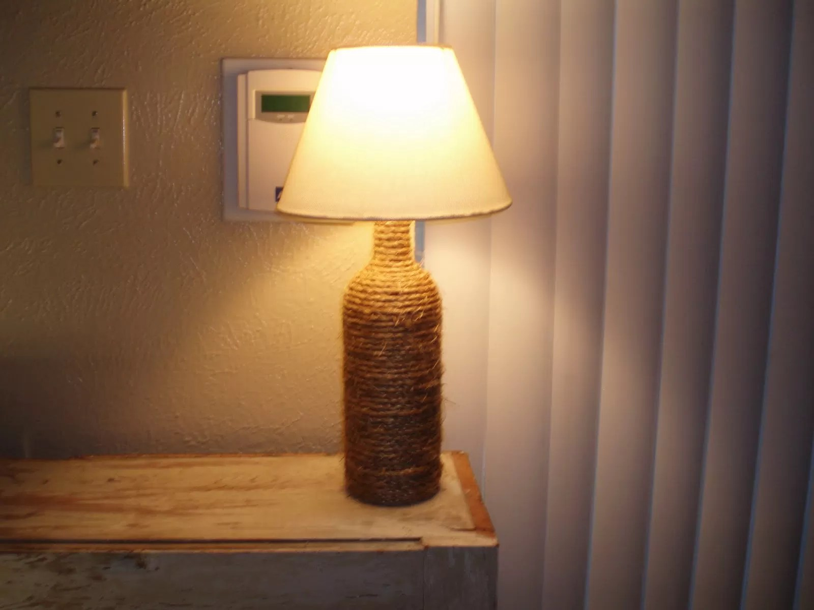 Lampe Diy 12 Ways To Make A Wine Bottle Lamp Guide Patterns