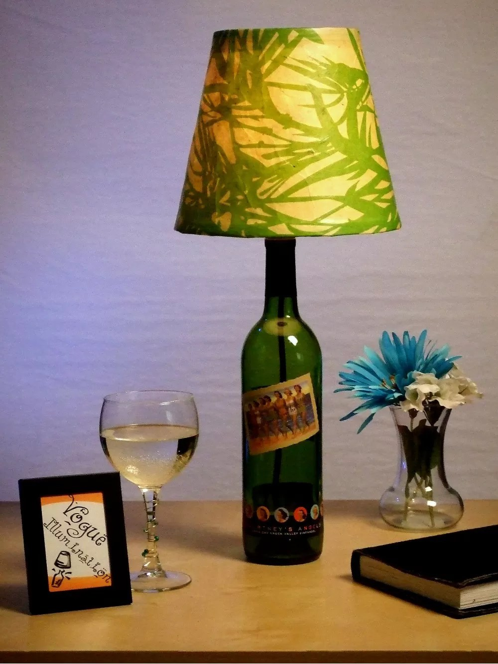Recycled Plastic Bottle Lamp 12 Ways To Make A Wine Bottle Lamp Guide Patterns