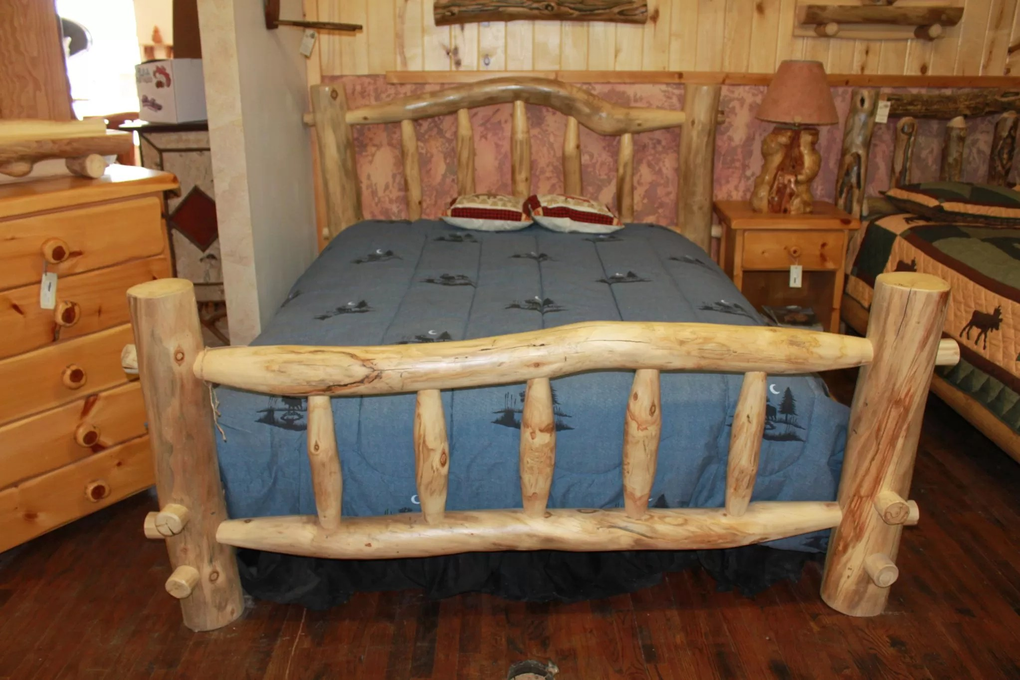 Teak Wood Platform Bed A Colorful Modern Space For A