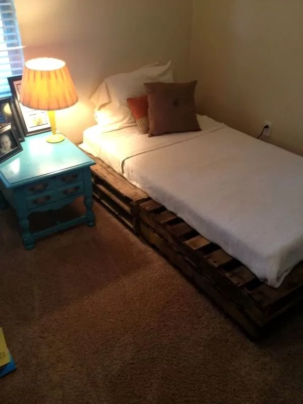 Double Bed Frame How To Build A Wooden Bed Frame: 22 Interesting Ways