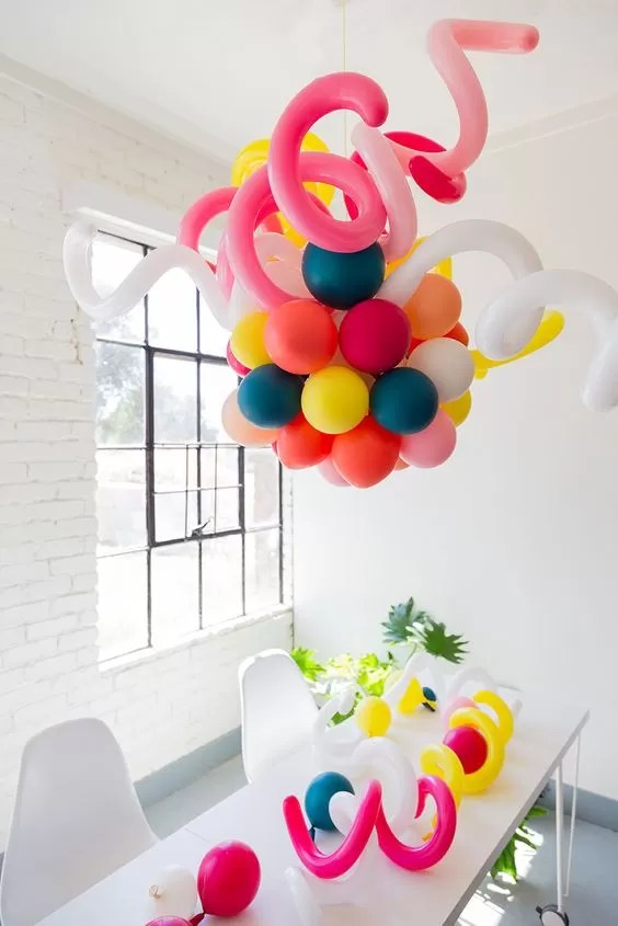Chandelier 9 Decorative Balloon Chandelier Ideas | Guide Patterns