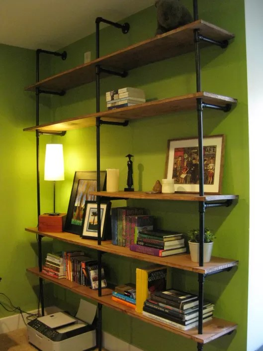 Industrial Design Regal 23 Diy Plans To Build A Pipe Bookshelf | Guide Patterns