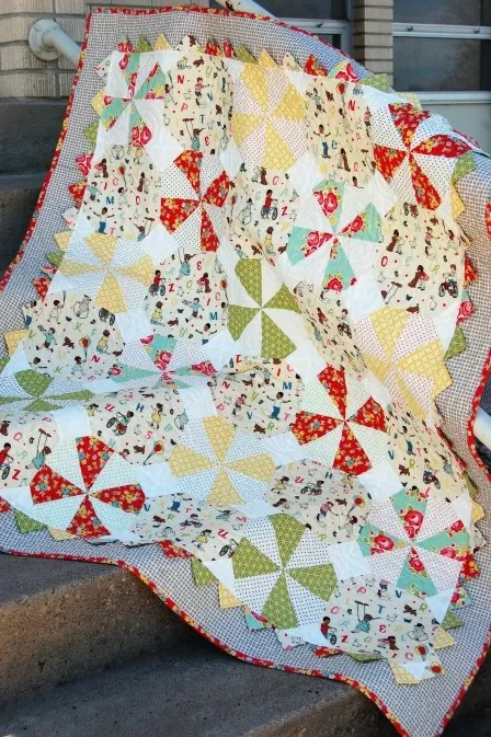Baby Quilts Handmade 29 Patterns To Make A Pinwheel Quilt Guide Patterns