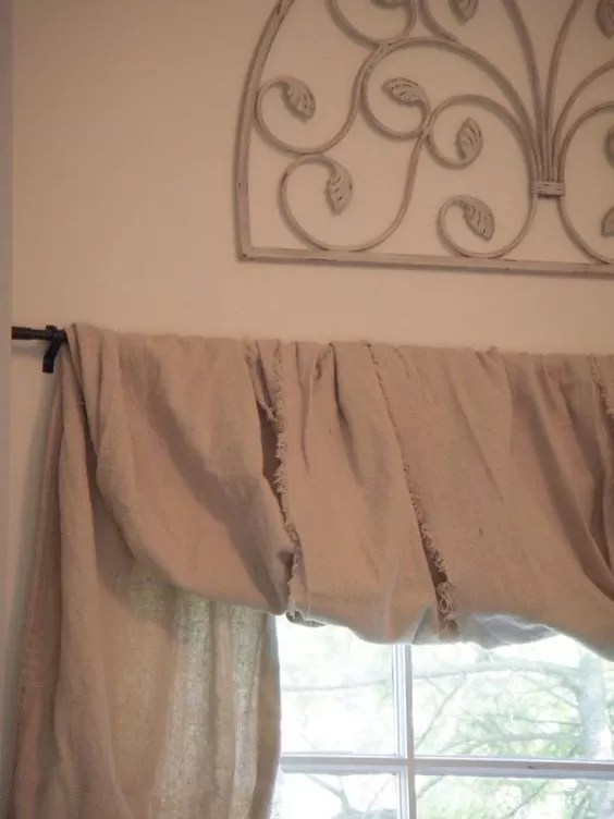 Wall Designs 25+ Easy No-sew Valance Tutorials | Guide Patterns