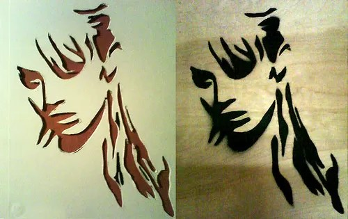 Stencils For Painting Spray Paint Stencils: 6 Tutorials For Making Them And 32