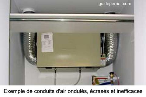Échangeur d\u0027air, VRC, VRE attention à l\u0027installation - Echangeur Air Air Maison