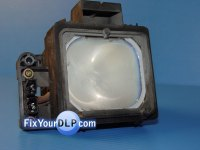 Sony XL-2200 How To Guide Replacement DLP TV Lamp Guide