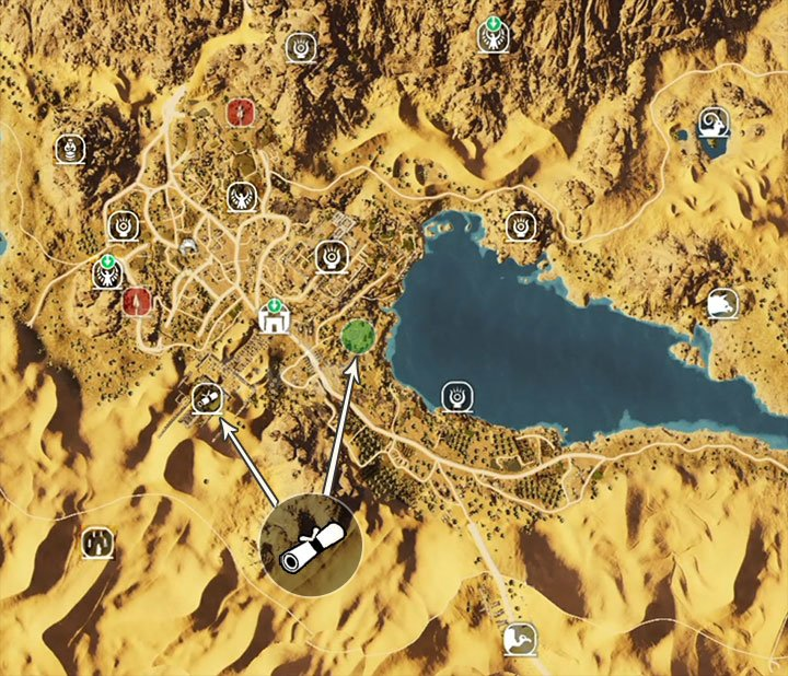 Papyrus Puzzle in Siwa - Assassin\u0027s Creed Origins Game Guide