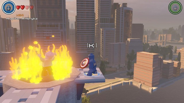 Table Manhattan Fly Stan Lee In Peril | Manhattan - Lego Marvel's Avengers