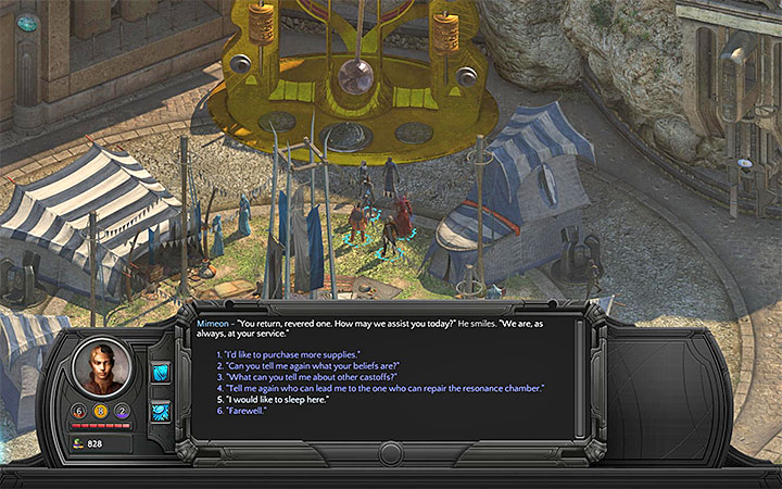 Where can you rest for free in Sagus Cliffs? - Torment Tides of