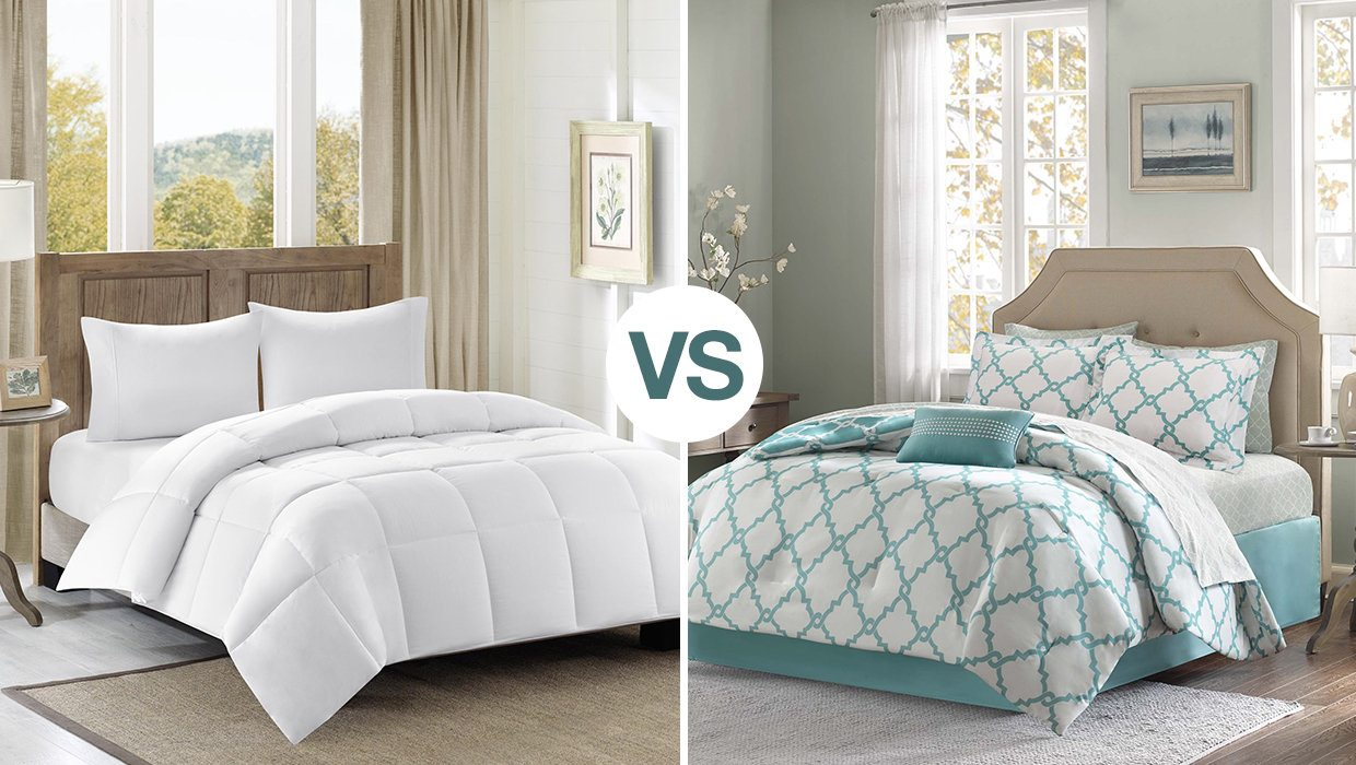 Difference Between Duvet Vs Comforter Overstockcom