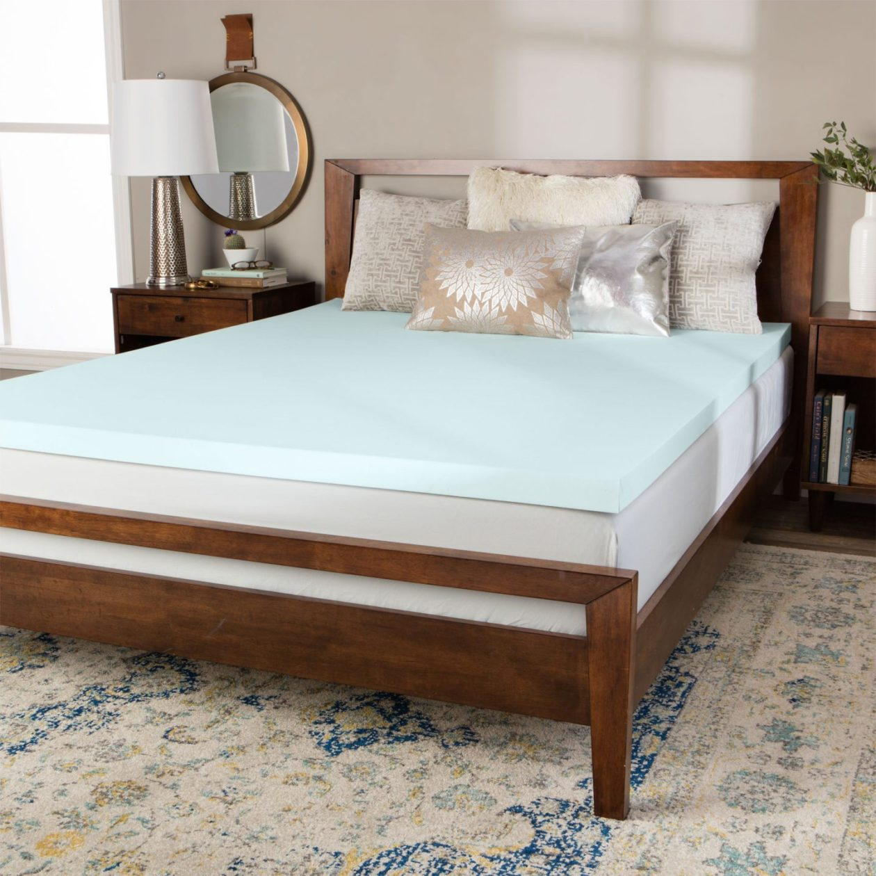 Hard Mattress Topper How To Compare Memory Foam Mattress Toppers Overstock
