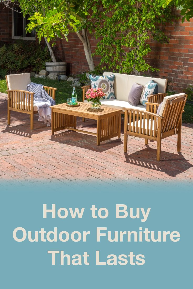 Discount Deck Furniture How To Buy Outdoor Furniture That Lasts Overstock Tips Ideas