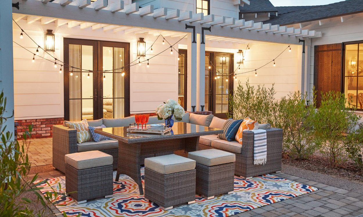 How To Keep Outdoor Area Rugs Looking New Overstockcom