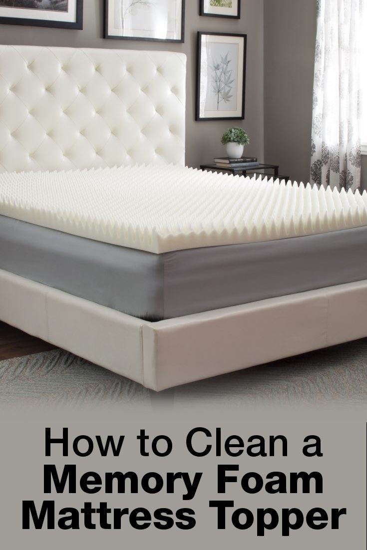 Beds Memory Foam Mattress The Best Way To Clean A Memory Foam Mattress Topper Overstock