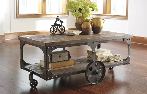 Industrial Furniture \ Decor Ideas for Your Home - Overstock - industrial living room ideas