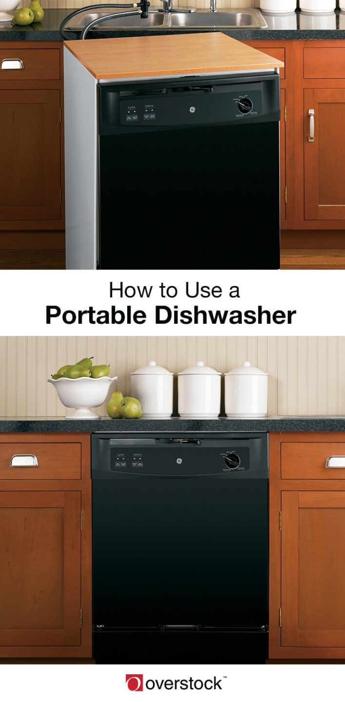 How To Use A Portable Dishwasher Overstock Com