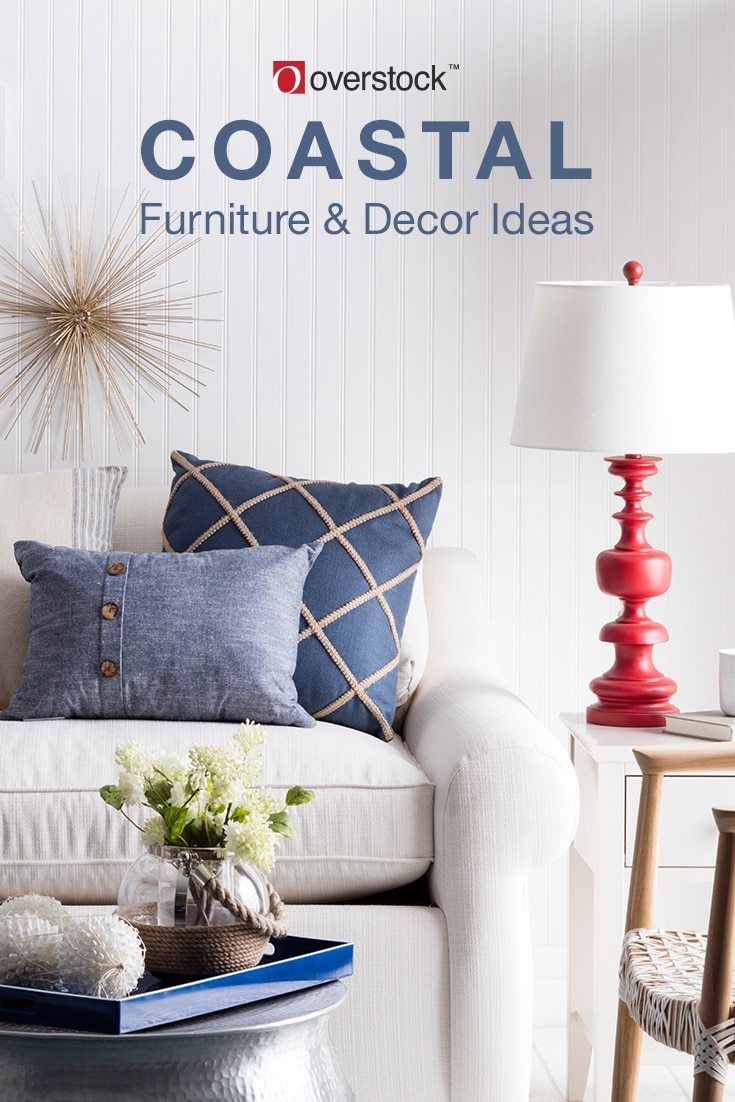 Nautical Sofa Throws Beautiful Coastal Furniture Decor Ideas Overstock