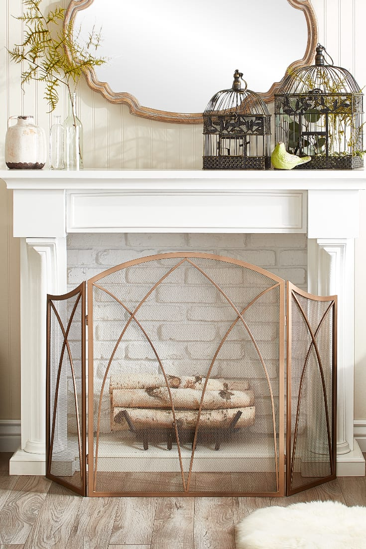 Farmhouse Rustic Fireplace Mantel Decor 15 Mantel Decor Ideas For Above Your Fireplace Overstock