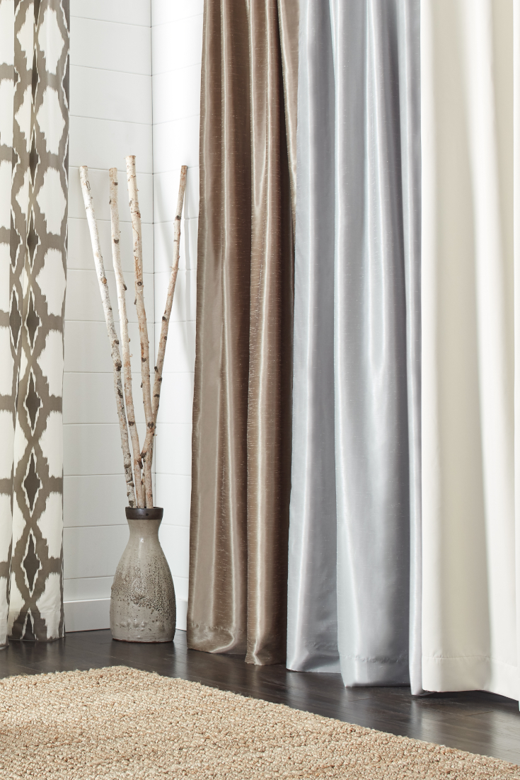 How Many Yards Of Fabric For Curtains The Best Types Of Fabric Curtains For Your Home Overstock