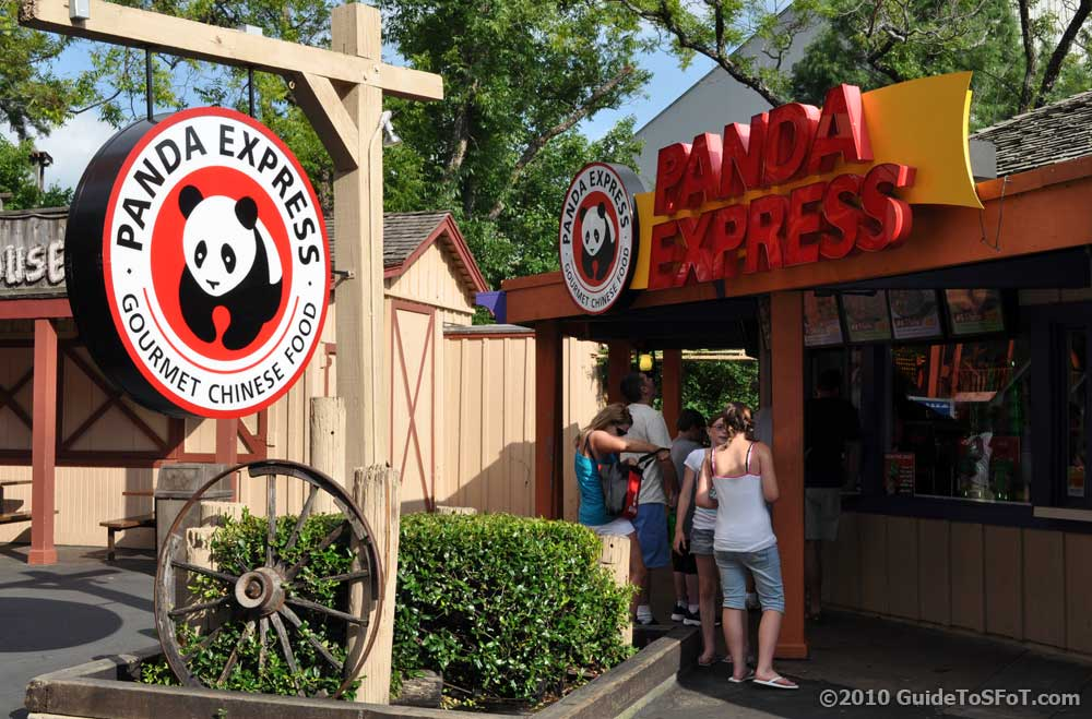Panda Express Guide to Six Flags over Texas