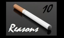 10 Reasons To Put Down The Cigarette and Give Vaping A Try