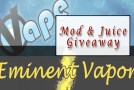 March Giveaway- iVape and Eminent Vapor – Giveaway Is Over