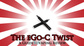 eGo-C Twist Review – Crimson Vapor