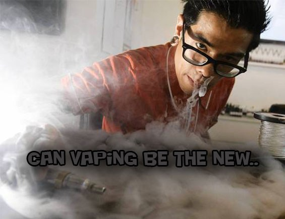 can vaping be the new