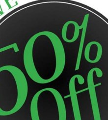 Save Up To 50% With This HUGE Tax Sale