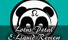 Vape Panda Lotus Petal E-Liquid Review
