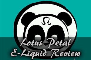 lotus petal e-liquid review