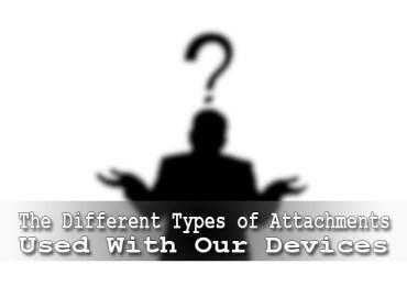 different attachments